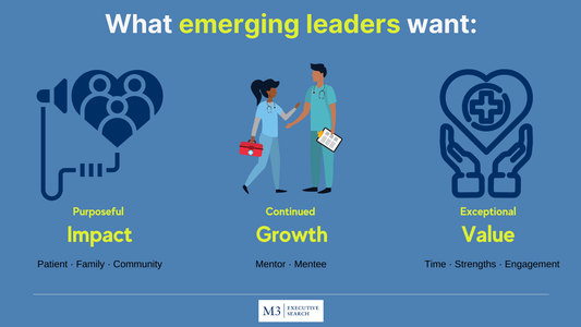 Today's Emerging Healthcare Leaders - Who Are They and How to Attract Them to Your Organization